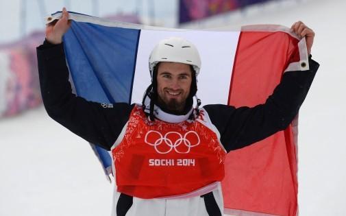 Pierre Vaultier, champion olympique de snowboard cross aux JO de Sotchi