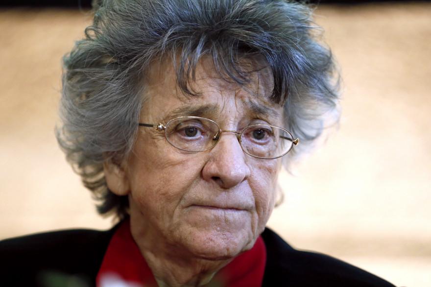 Antoinette Fouque le 22 novembre 2013 (illustration).