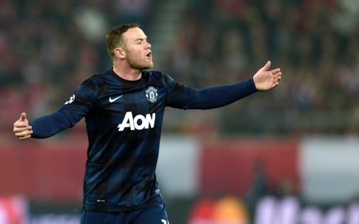 Wayne Rooney, attaquant de Manchester United