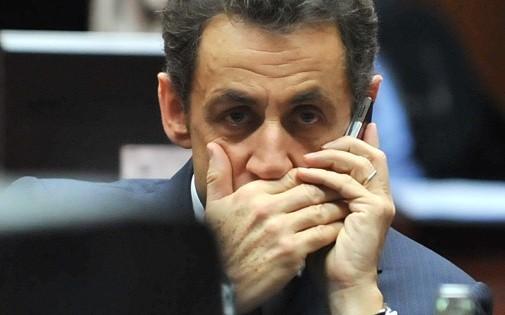 Nicolas Sarkozy à Bruxelles, le 11 décembre 2009