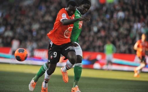 Vincent Aboubakar sous le maillot de Lorient