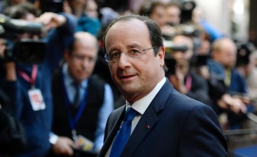 François Hollande à Bruxelles à l'occasion d'un sommet des dirigeants européens, le 20 mars 2014
