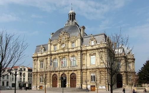 L'hôtel de ville de Tourcoing