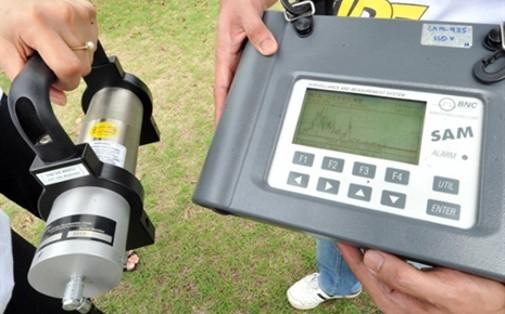 Un appareil d'enregistrement de la radioactivité