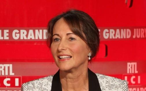 """Ségolène Royal lors du """"Grand Jury RTL"""", le 6 avril 2014"""