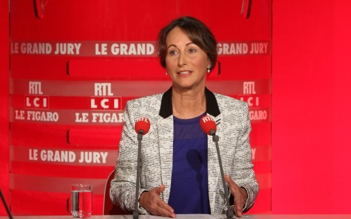 Ségolène Royal, le 6 avril 2014 lors du Grand Jruy RTL
