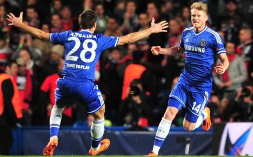 L'Allemand André Schürrle a marqué le premier des deux buts de Chelsea mardi soir (2-0).