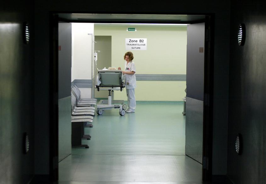 Un hôpital (illustration)