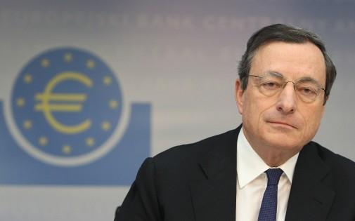 Mario Draghi, le président de la BCE, ici à Francfort le 6 mars 2014.