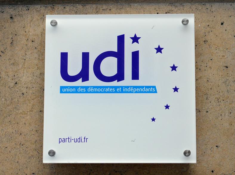 Le logo de l'UDI, le 28 novembre 2012, à Paris. (archives)