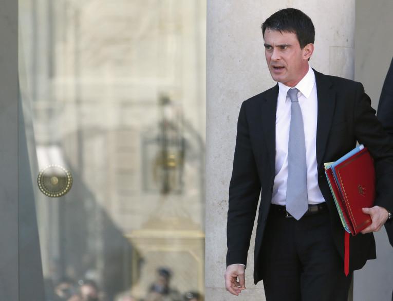Manuel Valls, le mercredi 16 avril 2014.