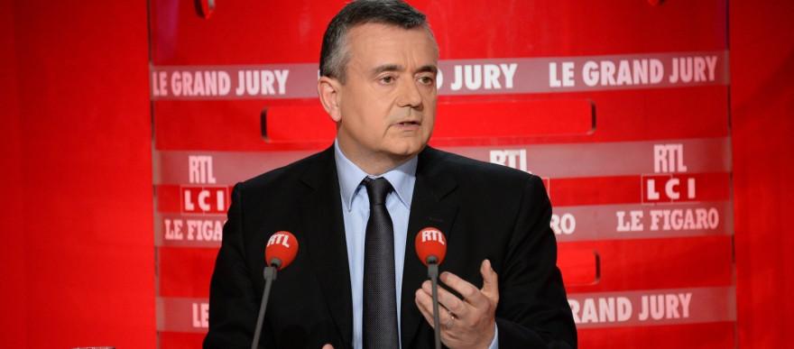 """Yves Jégo lors du """"Grand Jury"""" dimanche 20 avril."""