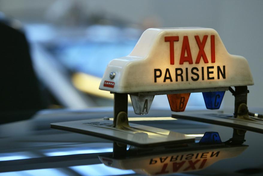 Un taxi parisien (image illustration).