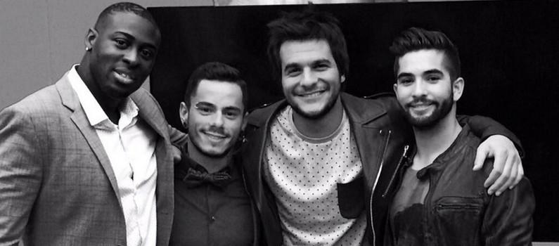 Wesley, Maximilien, Amir et Kendji sont les finalistes de The Voice 3