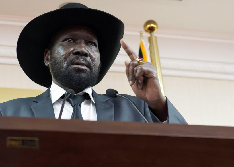 Salva Kiir, président du Soudan du Sud, le 25 avril 2014.