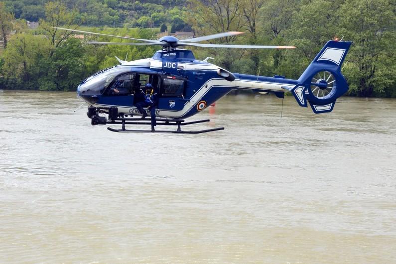 Un hélicoptère de gendarmerie (archives)