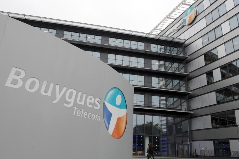 Locaux du groupe Bouygues, à Meudon; le 1er octobre 2013.