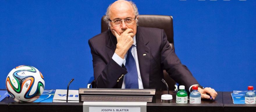 Sepp Blatter, le 21 mars 2014