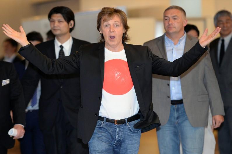 Paul McCartney à Tokyo le 15 mai 2014.