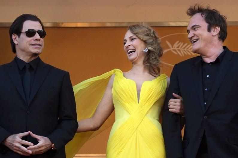 """Le 67ème festival de Cannes a rendu hommage à la Palme d'Or de 1994, """"Pulp Fiction"""" de Quentin Tarantino."""