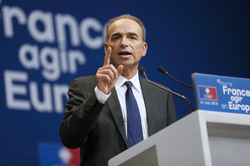 Jean-François Copé à Paris le 21 mai 2014. (archives)