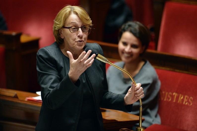 Marylise Lebranchu le 18 février 2014 à l'Assemblée nationale (illustration).
