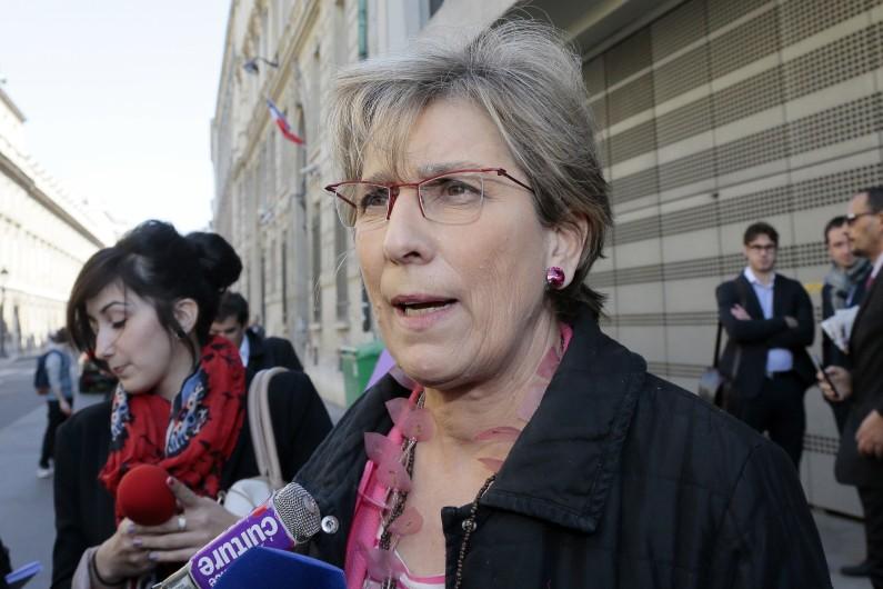 La sénatrice PS Marie-Noëlle Lienemann à Paris le 15 avril 2014. (archives)