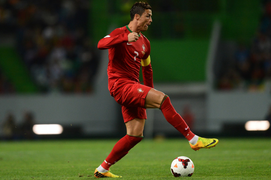Cristiano Ronaldo  sous les couleurs du Portugal