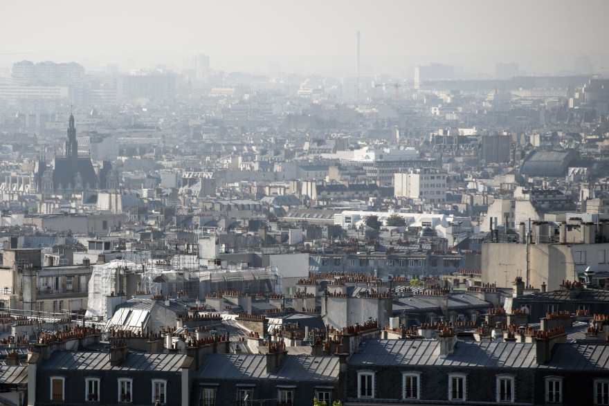 Immobilier : des immeubles à Paris (illustration)