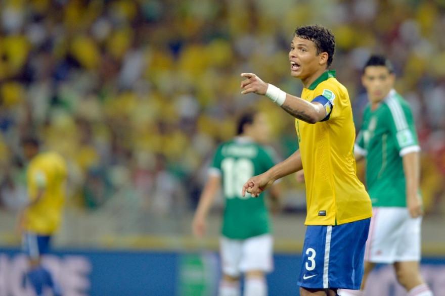 Thiago Silva (Brésil/PSG) est l'un des joueurs clés de la sélection brésilenne