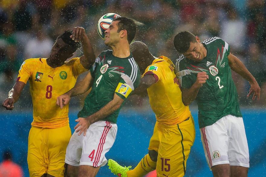 Le match Mexique-Cameroun, le 13 juin 2014