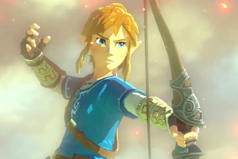 Image d'aperçu du jeu Zelda sur console Wii U