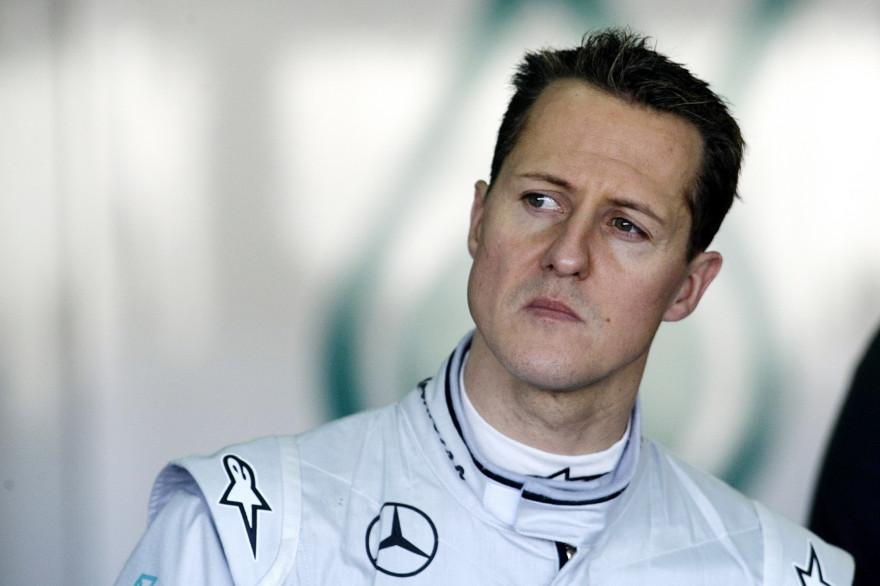 Michael Schumacher en 2010 (Archives)