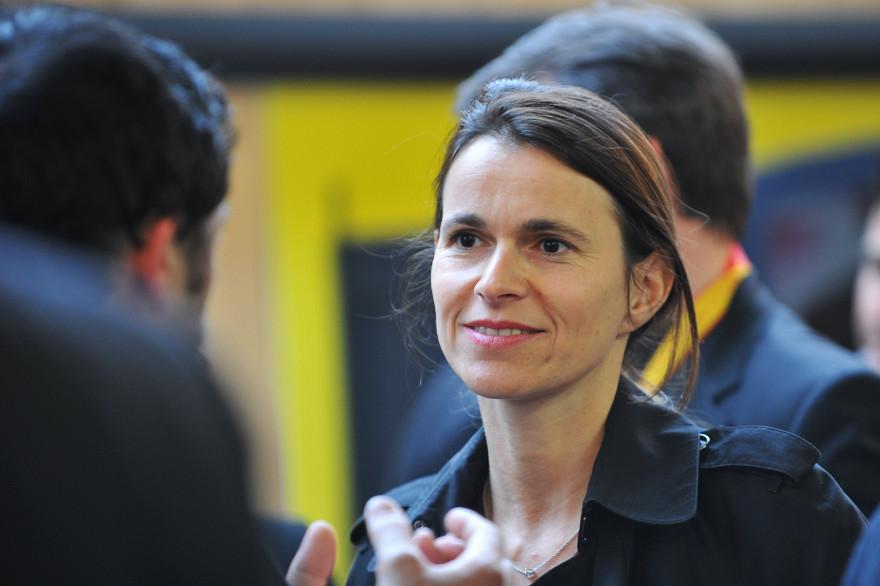 Aurélie Filippetti à Bourges, le 25 avril 2014.