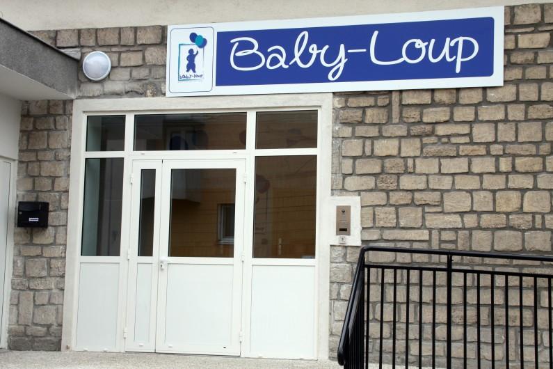 Les nouveaux locaux de la crèche Baby-Loup à Conflans-Sainte-Honorine près de Paris en juin 2014.