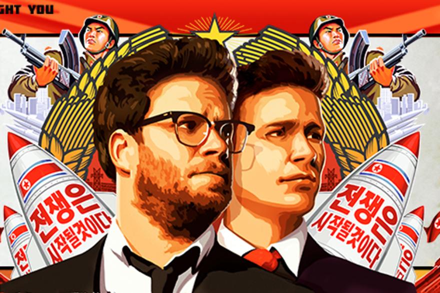 """Affiche du film """"The Interview"""" avec Seth Rogen et James Franco"""