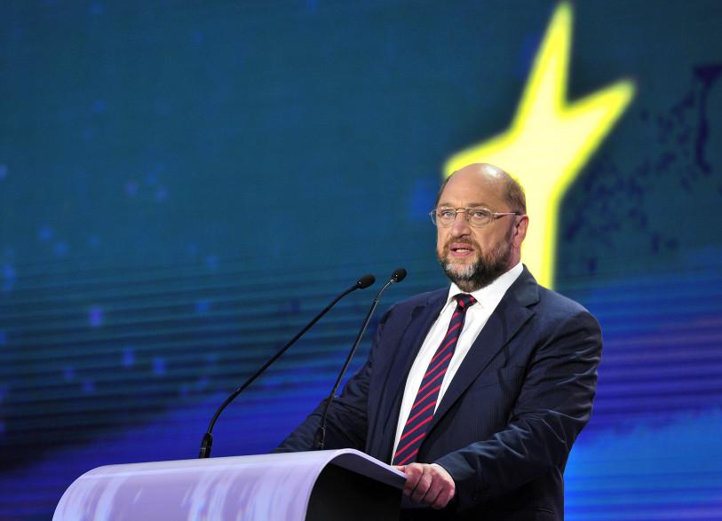 Martin Schulz a été réélu président du Parlement européen le 1er juillet 2014.