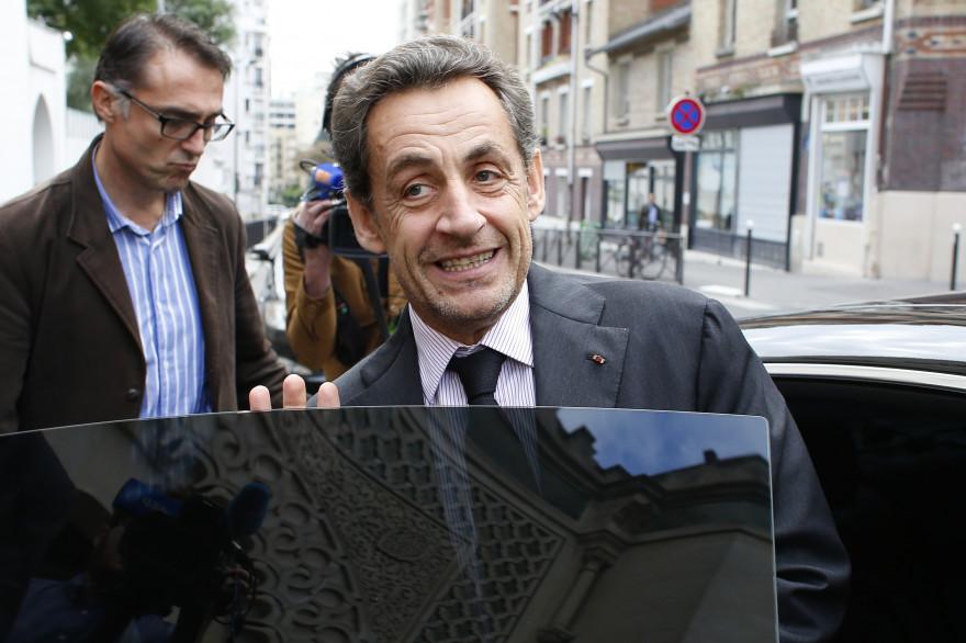 Nicolas Sarkozy, le 7 octobre 2013, à Paris.