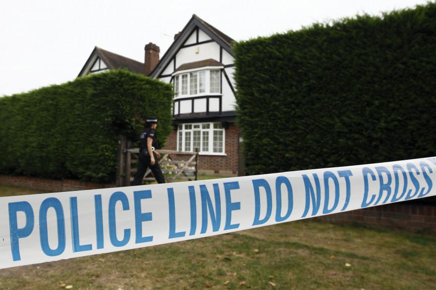 La maison de Saad et Iqbal al-Hilli à Claygate dans le Surrey (Angleterre), en septembre 2012.