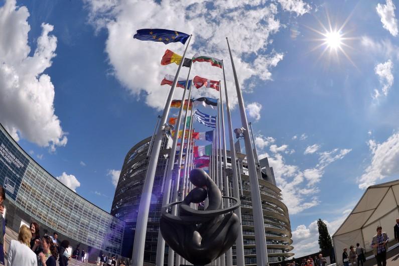 Le Parlement européen à Strasbourg, le 30 juin 2014.