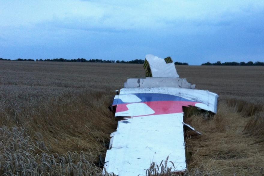 """Le président ukrainien dit que le crash de l'avion est """"un acte terroriste"""""""