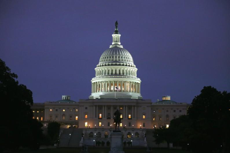Le Capitole, siège du Congrès américain à Washington, le 11 juin 2014