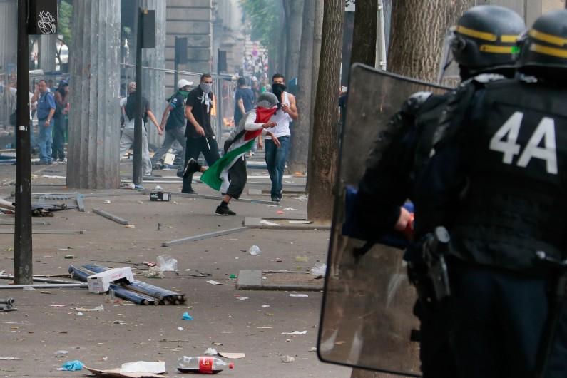 Des débordements à Barbès lors du rassemblement pro-palestinien interdit, samedi 19 juillet à Paris