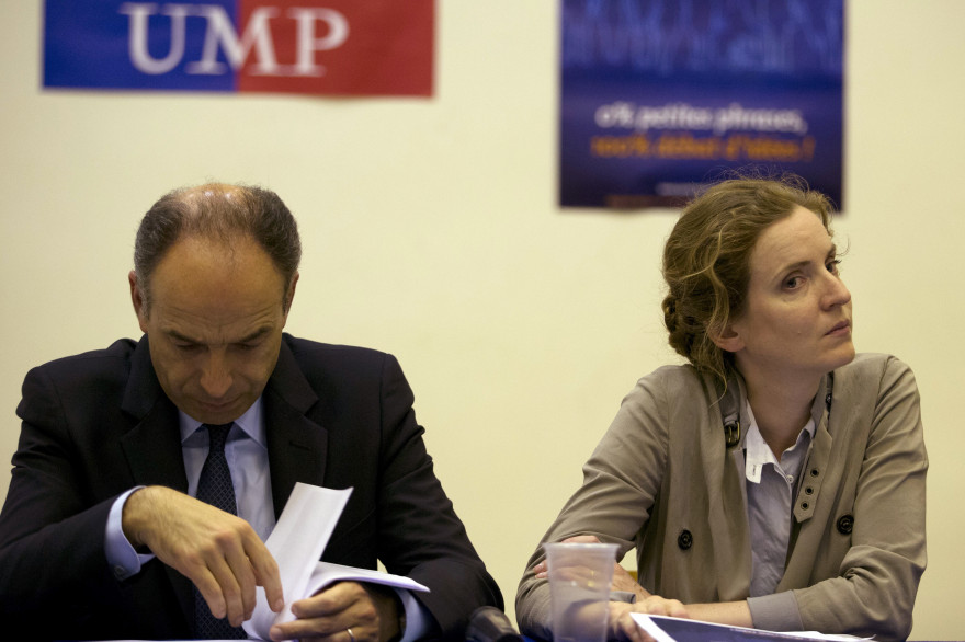 Nathalie Kosciusko-Morizet et Jean-François Copé en 2013 (Archives)