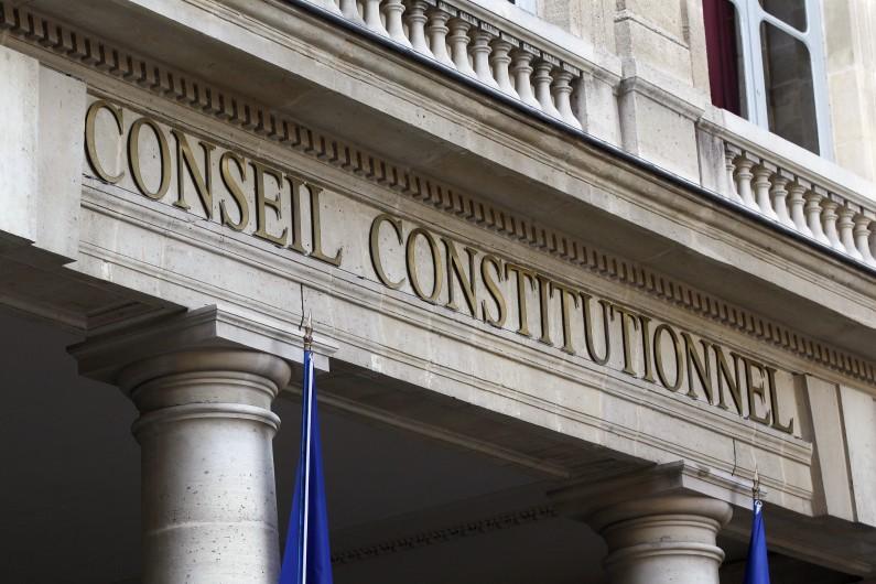 Photo du Conseil constitutionnel prise le 21 février 2012.