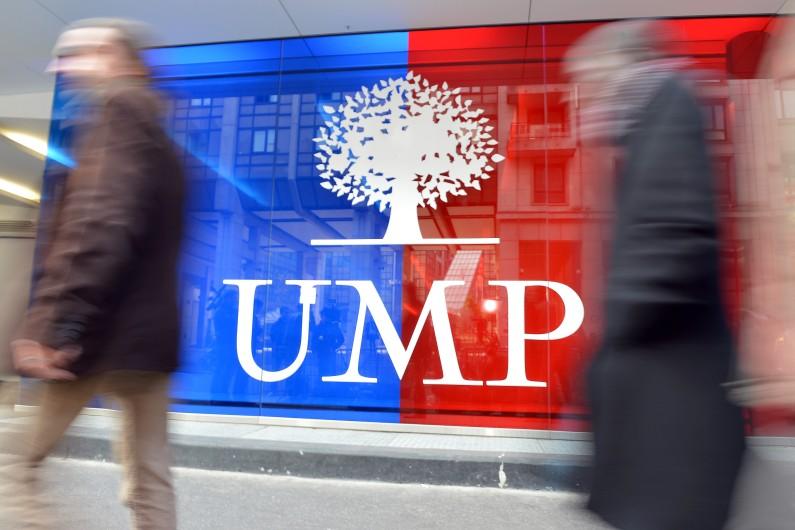 Le logo de l'UMP (illustration)