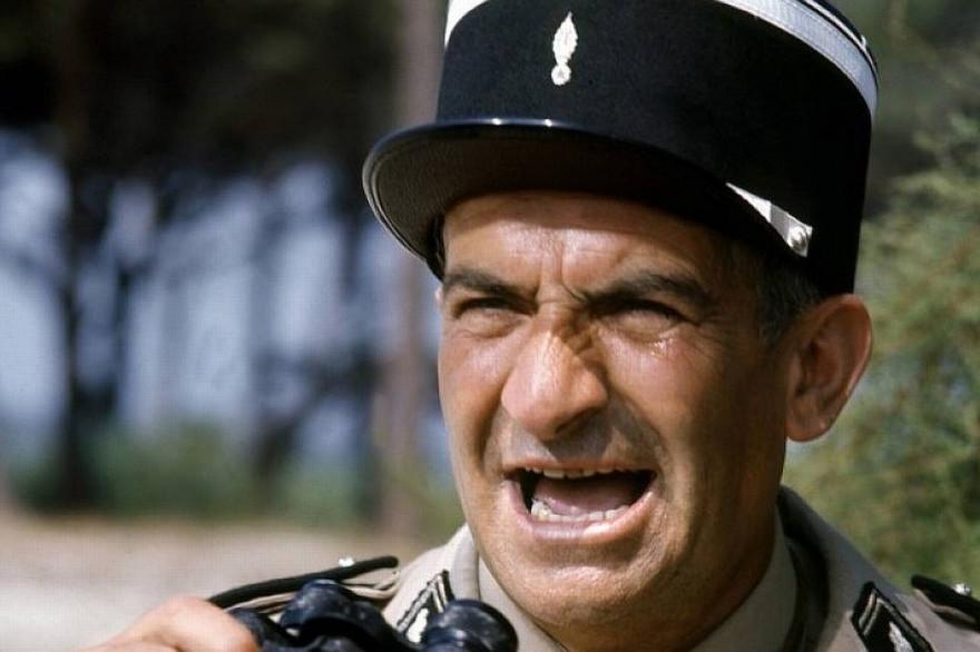 """Louis de Funès dans """"Le Gendarme de Saint-Tropez"""""""