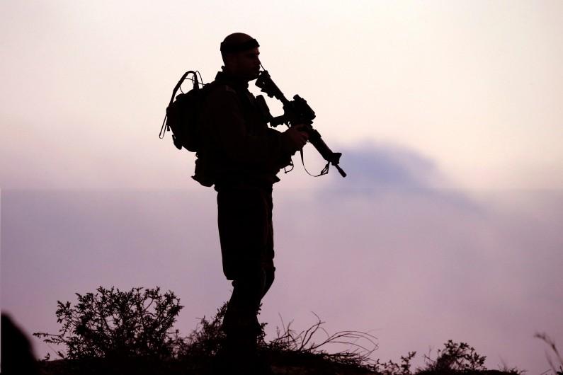 Un soldat israélien près de la bande de Gaza (illustration)