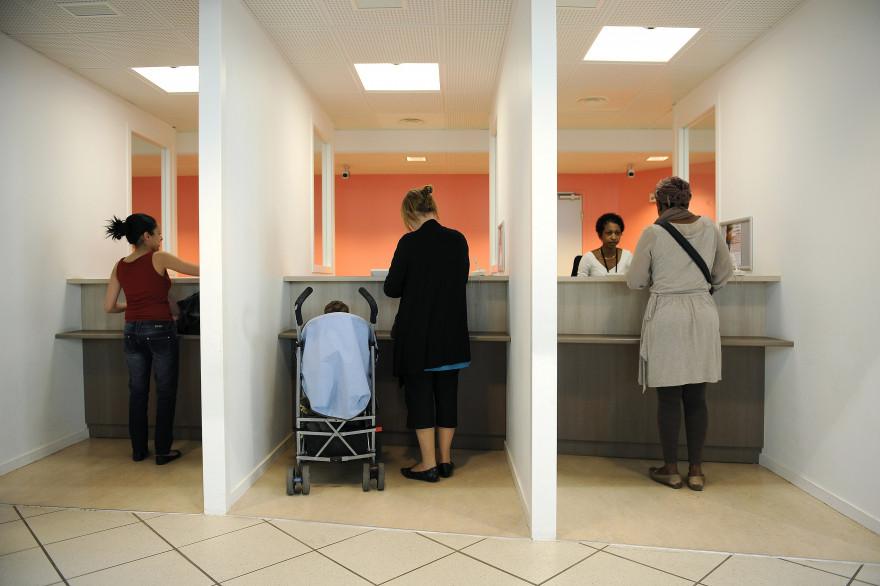 La caisse d'allocations familiales de Lyon en 2011 (Archives)