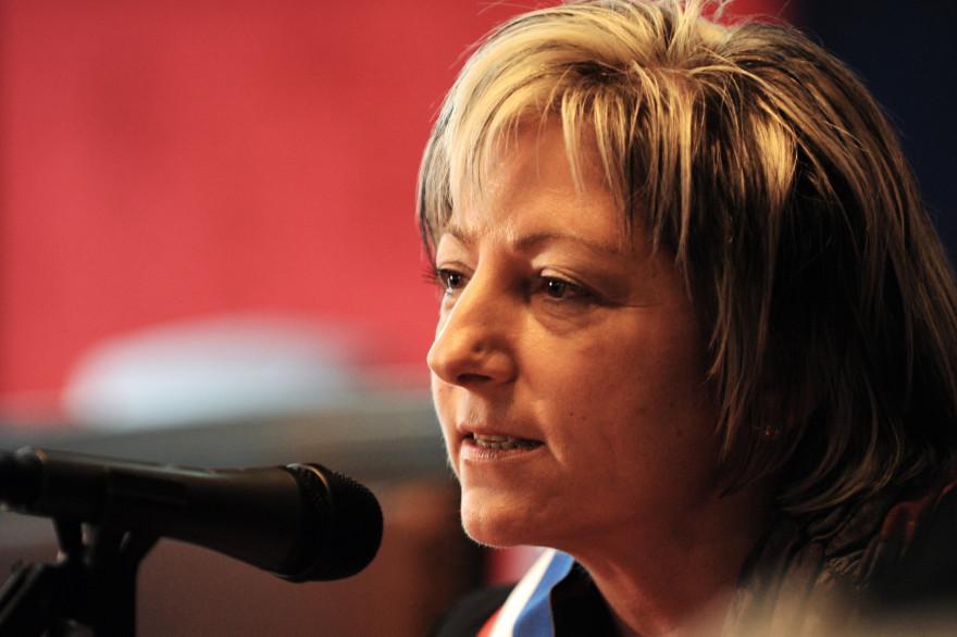 La maire de Calais, Natacha Bouchart (UMP).